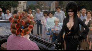 """""""Listen sister, if I want your opinion, I'll beat it out of you."""" Elvira's fist confrontation with Chastity Pariah"""