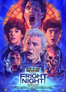 Movie poster for 1985's Fright Nightå
