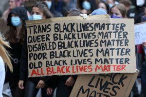 """""""Trans Black Lives Matter. Queer Black Lives Matter. Disable Black Lives Matter. Poor Black Lives Matter. Old Black Lives Matter. All Black Lives Matter."""""""